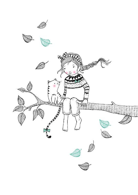 Illustratie van Marieke ten Berge