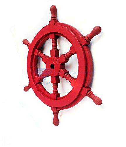 Nautical Handcrafted Wooden Ship Wheel - Home Wall Decor ... https://www.amazon.com/dp/B01DO73WTQ/ref=cm_sw_r_pi_dp_x_j0oHybPCF3RD9