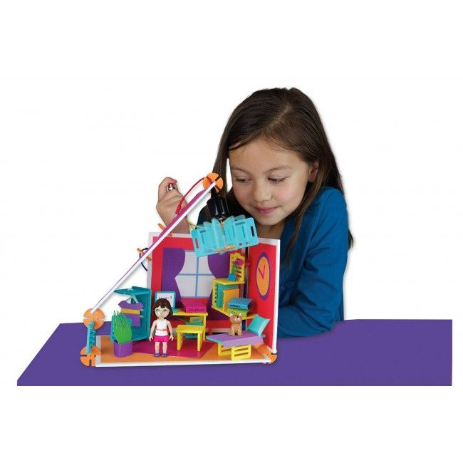 We recently got introduced to Roominate and instantly loved the concept! They produce engineering toys geared towards girls, encouraging them to build on their STEM (Science, Technology, Engineering and Math) skills, whilst teaching basic circuity and building concepts, developing fine motor skills and confidence! The Studio set is a 70 piece set that allows your little budding engineer to design and build their own space, furniture and lots more. #engineering #build #entropytoys…