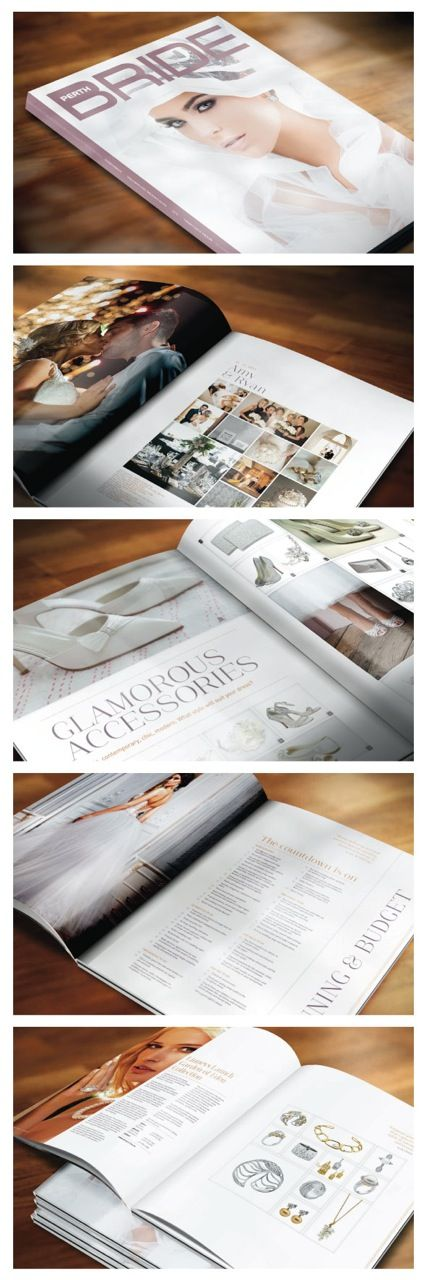 Preview of the #new Perth Bride Magazine! Featuring various Wasp Hair and Make up designs.