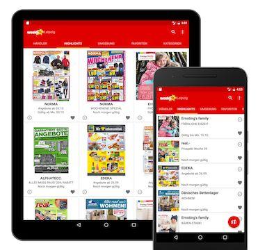 Prospekte App für Android zum Blättern von Lidl Prospekt, Aldi Prospekt u.v.m.