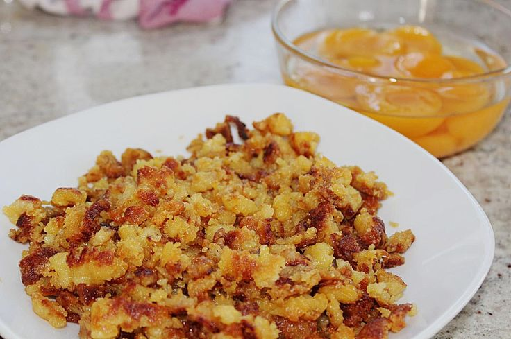 potato sterz is an original Austrian dish that is also very popular in Bavaria, it is made out of potatoes and flour and comes from Kaernten and Steiermark.