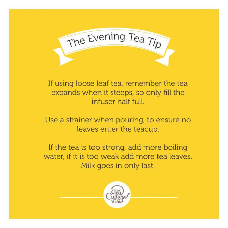 They say 'Every woman is as strong as her tea'. And how strong do you like it ? #teatip