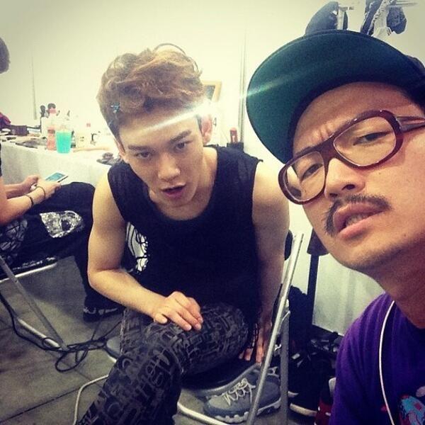 Chen's Instagram update