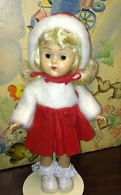 Vintage Vogue Ginny Doll BKW Tagged snow Outfit LOOK!