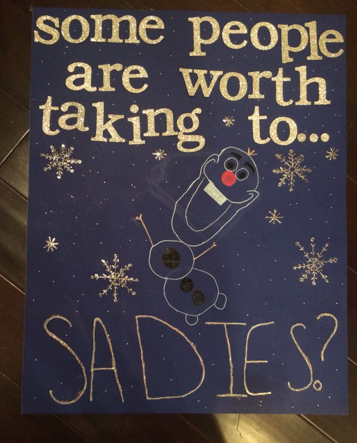 sadies proposal ideas