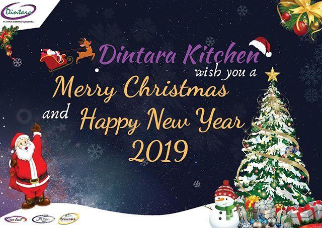 Segenap Manajemen Dan Pegawai Dari Pt Dapur Inspirasi Nusantara Mengucapkan Selama Merry Christmas And Happy New Year Christmas Ornaments Happy New Year 2019