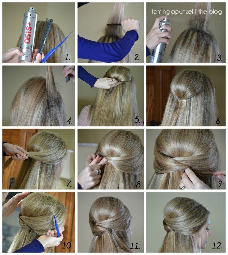 64 best hairstyles images on pinterest bridal hairstyles hair taming rapunzel elegant half up will be attempting this solutioingenieria Image collections