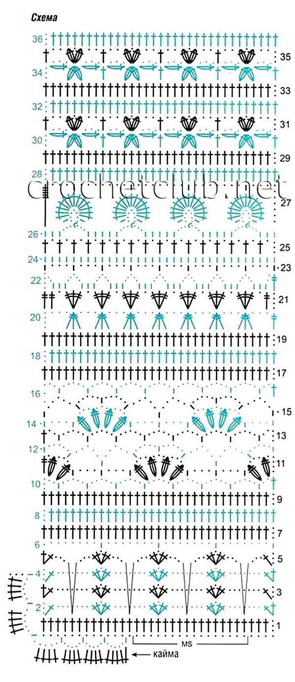 Crochet Creative Stitches - Chart ❥ 4U // hf: