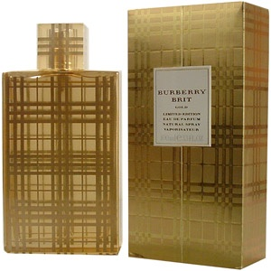 one of the best limited edition perfumes - burberry brit gold