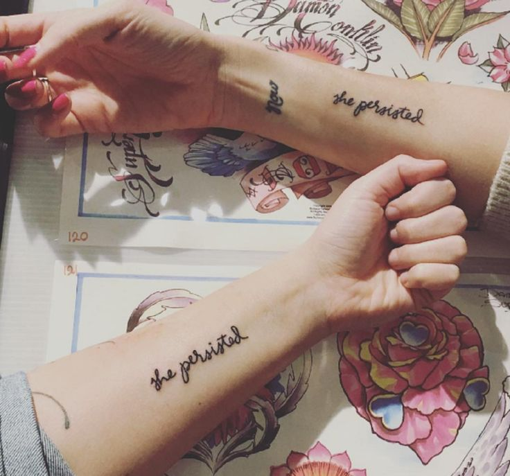 150 women queued outside a tattoo parlour to get this feminist tattoo
