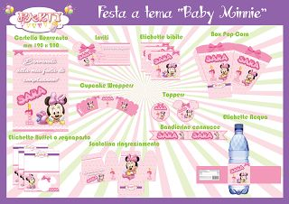 "Festa a tema ""Baby Minnie"""
