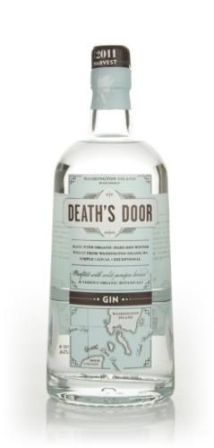 Death's Door gin is a fine American gin made with organic red winter wheat from Washington Island, Wisconsin. Bottled at higher strength than your average gin, this made a great martini. This bottle contains seventy centilitres of this tasty gin.