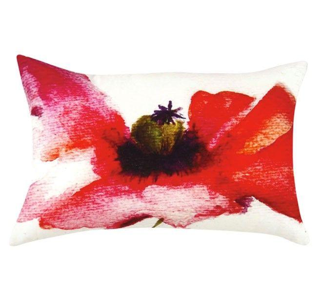 Poppy 35x55cm Filled Cushion Multi   Manchester Warehouse