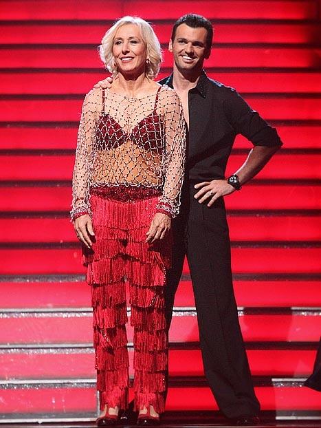Dancing with the Stars: Martina Navratilova Eliminated
