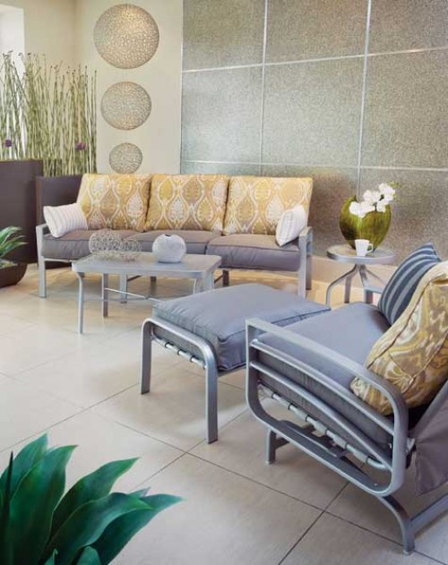 The Skyway collection from Windward Design Group is contemporary and visually