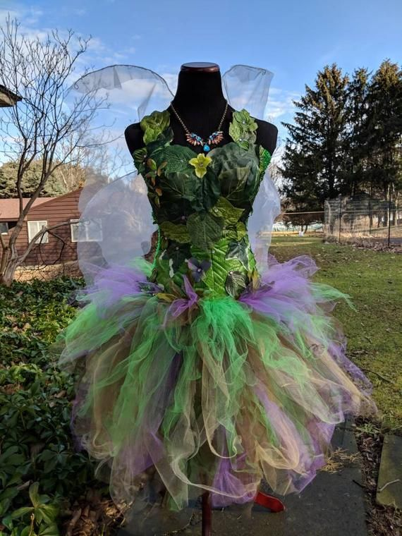 55fe443d5d1 Adult Woodland fairy costume dress,Woodland fairy dress with green ...