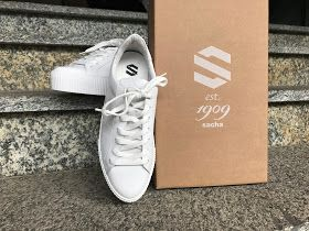 Plateau Sneaker Sacha Shoes Fashion Trend Sommer Herbst White Weiß