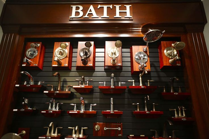 Just A Few Of The Shower Head And Faucet Options Found In Royal Oaks Homes New Design Center