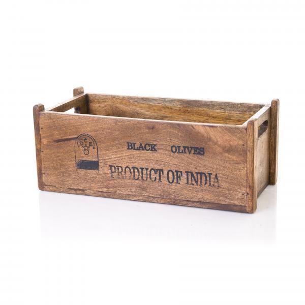 Puinen säilytyslaatikko mangopuusta. Laatikon saat kotiisi täältä: http://www.verkkokauppa.aadesign.fi/tuotteet/jasper-box