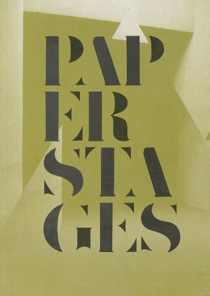 PAPER STAGES // UNTIL 22ND MARCH // BAC