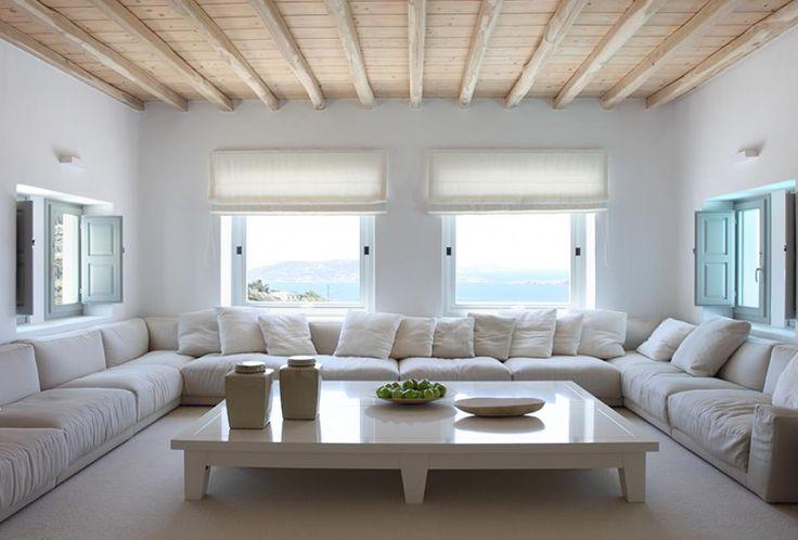 Living room in Myconos