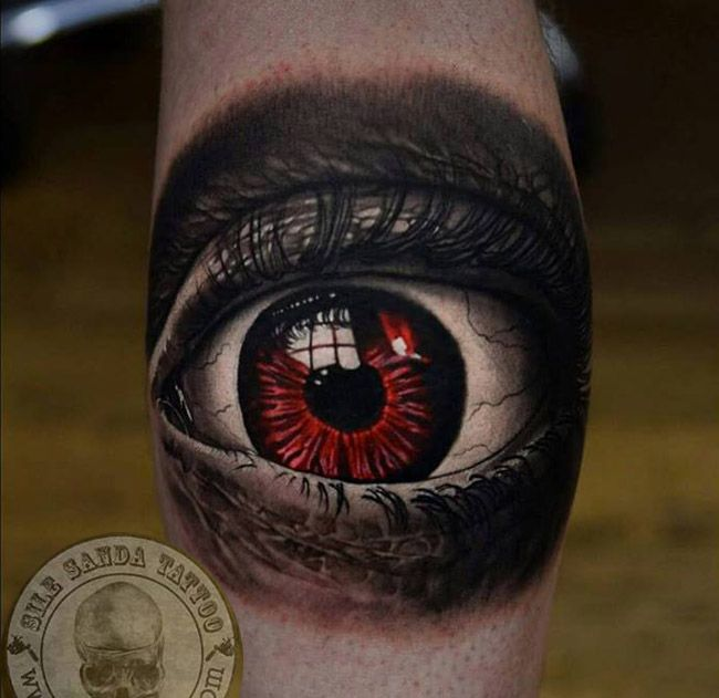 17 Best Images About Tattoos On Pinterest: 17 Best Images About Best 3D Eye Tattoos In The World On