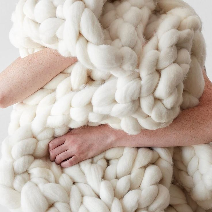 Chunky Knit Throw Blanket   Handcrafted with Merino Wool – The Citizenry