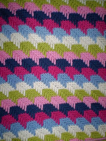 Free Crochet Pattern:  Apache Tears Afghan by Project Linus