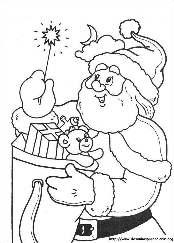 101 best Coloring - Santa images on Pinterest | Coloring books ...