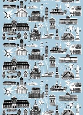 Helsinki fabric by Marimekko