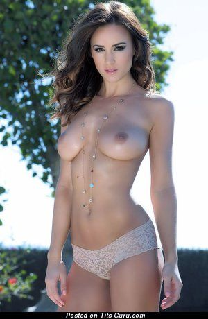 Rosie Jones - nude brunette with medium tots photo