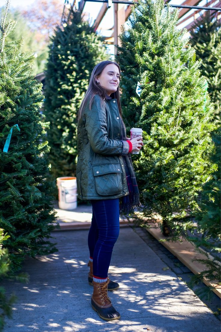 New Barbour + Christmas Tree Shopping | Covering the Bases | Fashion and Travel Blog New York City