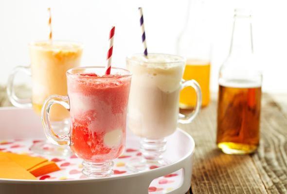 Flotteurs à la crème glacée 10 façons