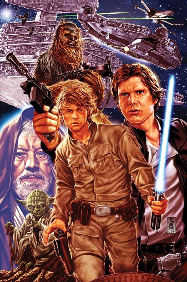 Star Wars #1 - The Empire Strikes Back by Mark Brooks *