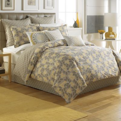 notNeutral® Garden Path Duvet Cover Set, 100% Cotton - BedBathandBeyond.com