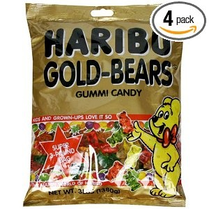 Haribo Gold Gummi Bears - or any other Harbo Gummis really, except for black licorice.