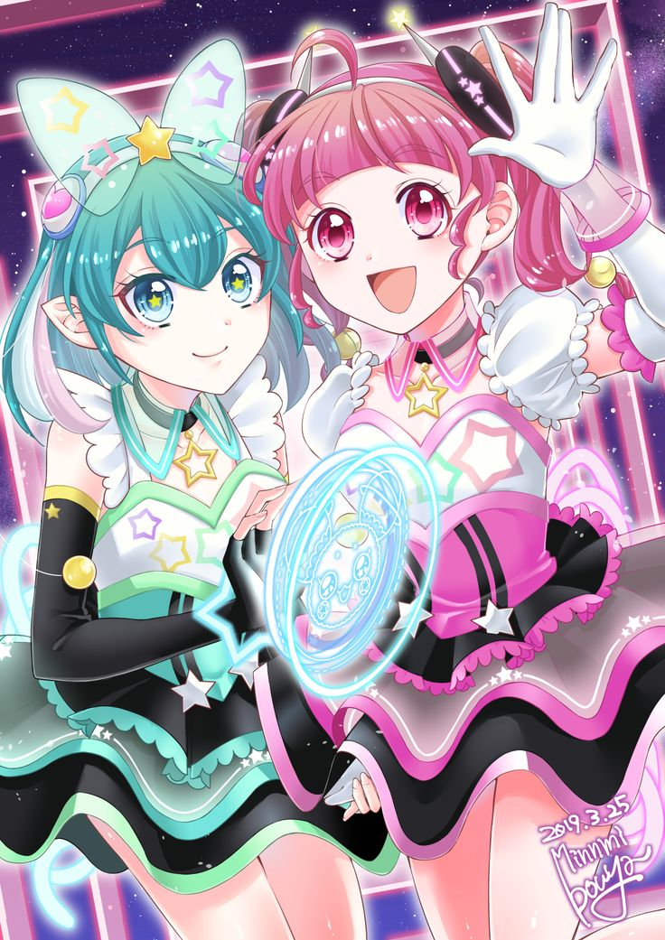 Pin by Ashley🐼🌙 on Pretty cure in 2020 Magical girl