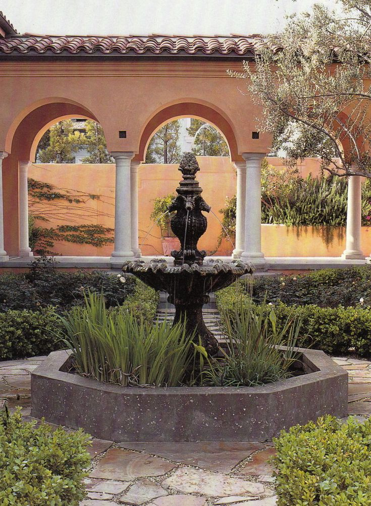 23 Best Spanish Landscape Design Images On Pinterest