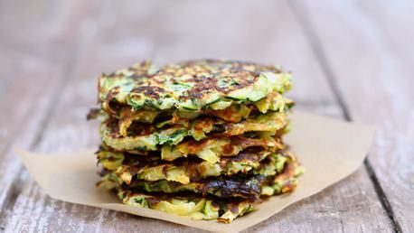 these light   healthy fritters are great for breakfast, lunch or dinner