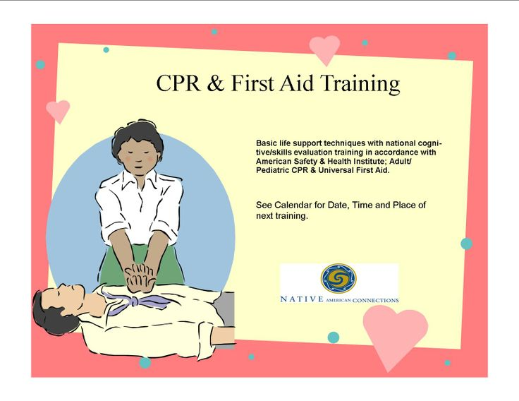 Pediatric cpr workplace training basic life support