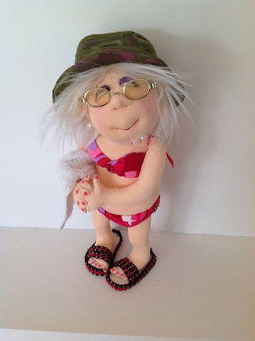 Jan Horrox Cloth Doll and Textile Supplies — Yvonne by Jill Maas