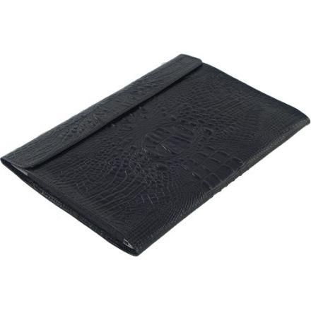 """Чехол-конверт Alexander для MacBook Pro Retina 15"""" кроко чёрный"""