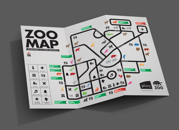 JHB ZOO Infographic on Behance