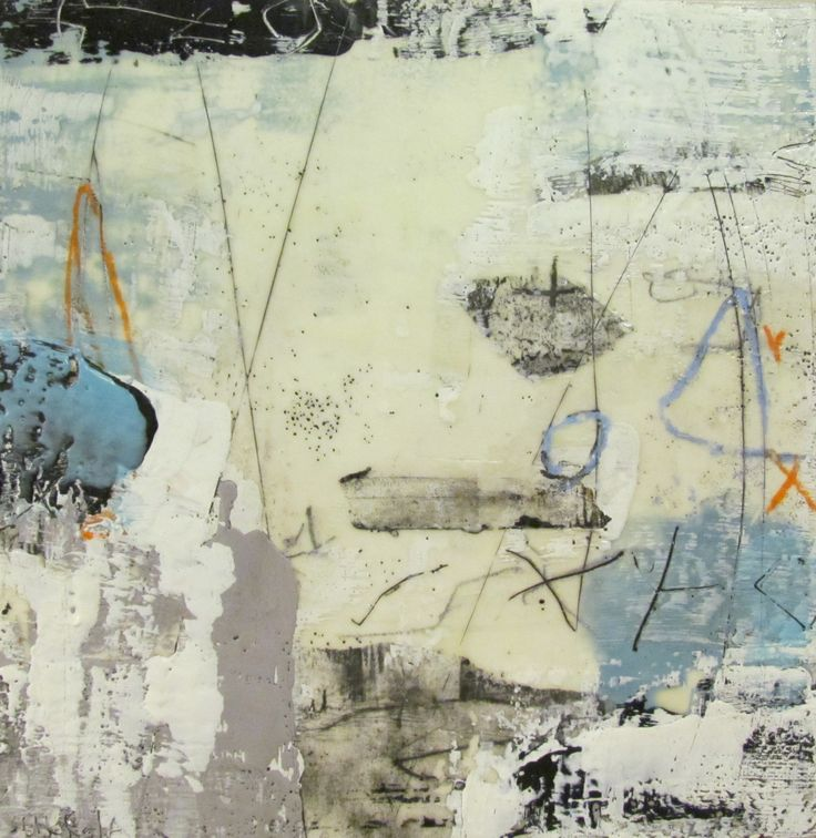Susan Ukkola, Untitled, encaustic on panel
