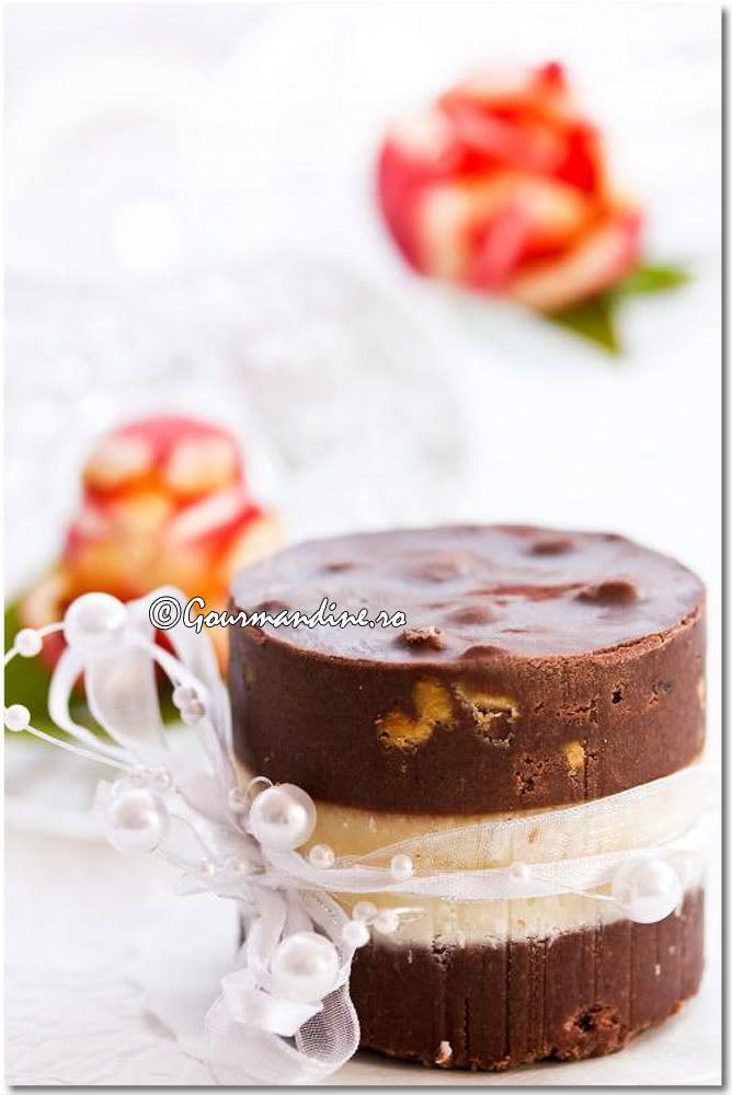 ciocolata de casa (home made chocolate with powder milk -romanian)- 3 layers