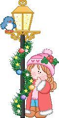 Gifs Christmas: Christmas lanterns and candles