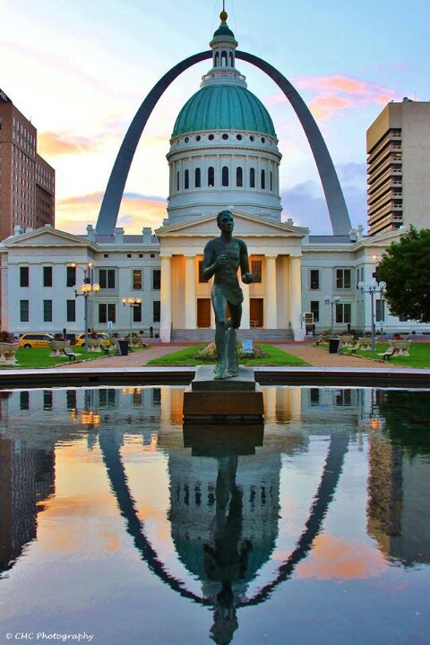 St. Louis, MO Was looking for a cool pic of the arch and I like this one. St. Louis is a cool city and lots to see.