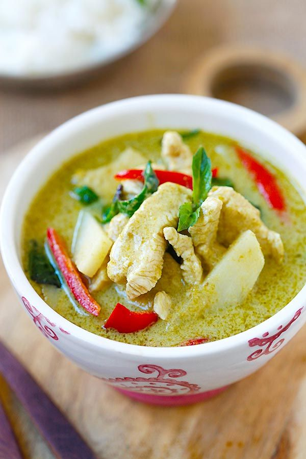Thai Green Curry | Easy Delicious Recipes