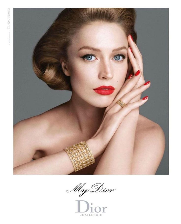 Raquel Zimmermann for My Dior Jewelry 2012 Campaign by Steven Meisel